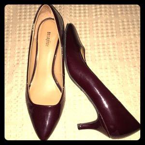 Metaphor Shoes - Metaphor Burgundy Heels sz 9M