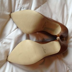 475b719e40 Cathy Jean Shoes - NWOT/box Cathy Jean Brazil Tan Leather Pumps
