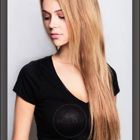Bellami Makeup Bambina 16og 20in Dirty Blonde Extensions Poshmark