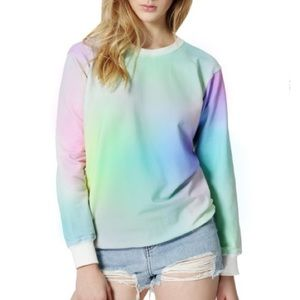 Local Heroes Tops - Local Heroes Rainbow Sweatshirt