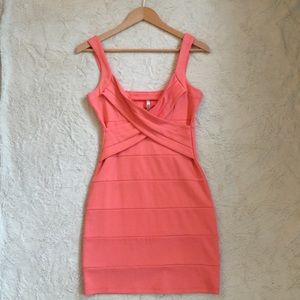 Zinga Dresses & Skirts - Coral orange dress