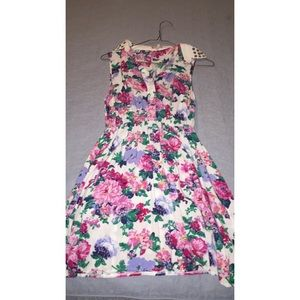 PacSun floral print sleeveless dress
