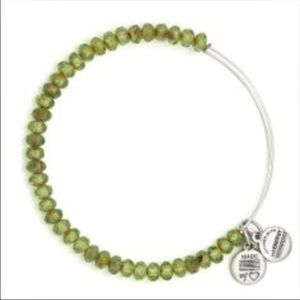 Alex & Ani Jewelry - Brand New Alex + Ani Mantis Luminary Beaded Bangle