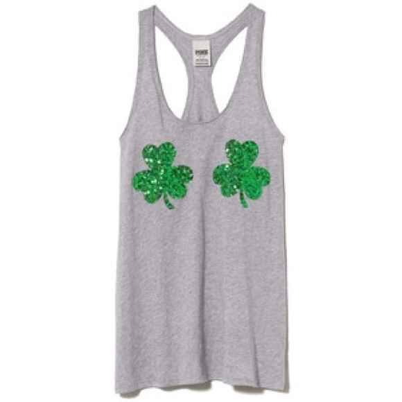 dfaa7b75 Victoria's Secret St. Patty's Day sequin tank top.  M_570af99c620ff7bca8014e58