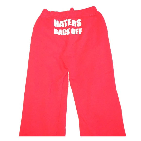 fashionable and attractive package world-wide free shipping lower price with Haters back off sweatpants