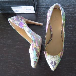 Joe's Jeans Shoes - Joe's Jeans Erika Pointy Toe Pump in Multi