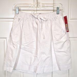 Merona: White Skirt