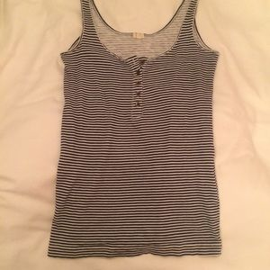 J. Crew Tops - NWOT J. Crew Navy and White Striped Tanktop