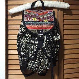 Handbags - Aztec Tribal Backpack