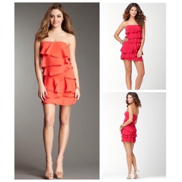 ce9b6db21db8d BCBGMaxAzria Dresses | Bcbg Ginger Tiered Ruffled Dress | Poshmark