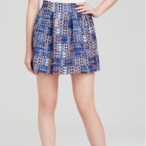 Aqua women's blue / Aztec skirt