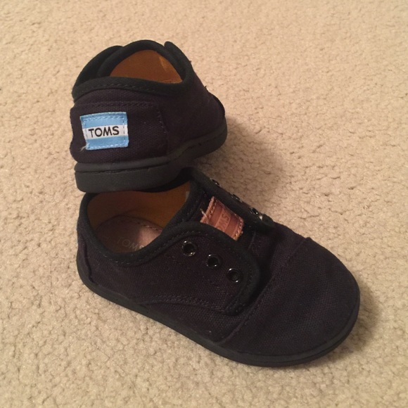 Toms Shoes | Toms Baby Boy Paseo Black