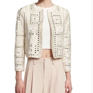 Alice and Olivia Embroidered Jacket