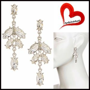 Boutique Jewelry - ❗️1-HOUR SALE❗️EARRINGS Statement Pave Crystal