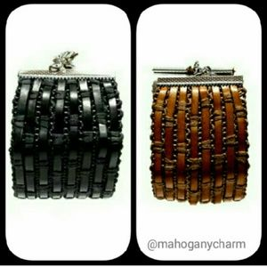 Jewelry - Leather woven armband
