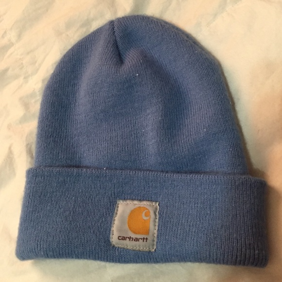 b43d92ae Carhartt Accessories | Light Blue Beanie | Poshmark