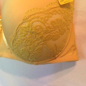 e2b7b81918 Lukasi Intimates   Sleepwear - Beautiful mustard colored bra size 44DD