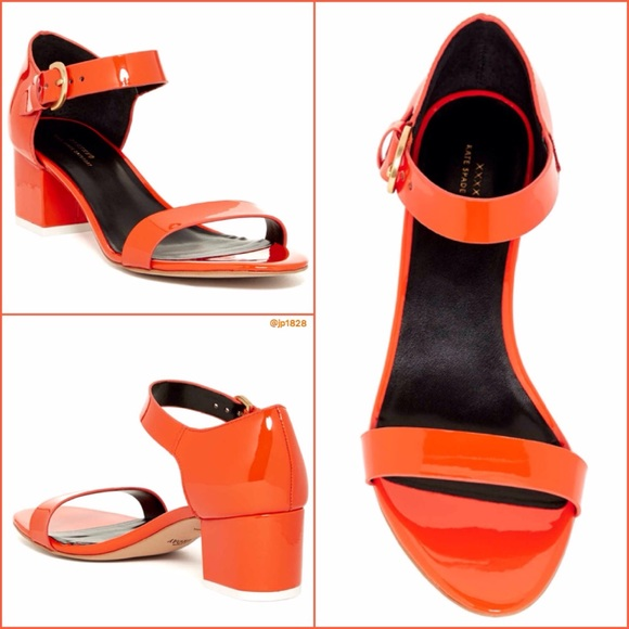 33a7b4578bf Kate Spade Saturday Block Heel Sandals - Orange
