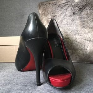 factory price reliable quality buying new nine west red bottom heels