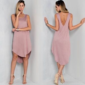 Dresses & Skirts - Vintage Inspired Basic Dress in ROSE