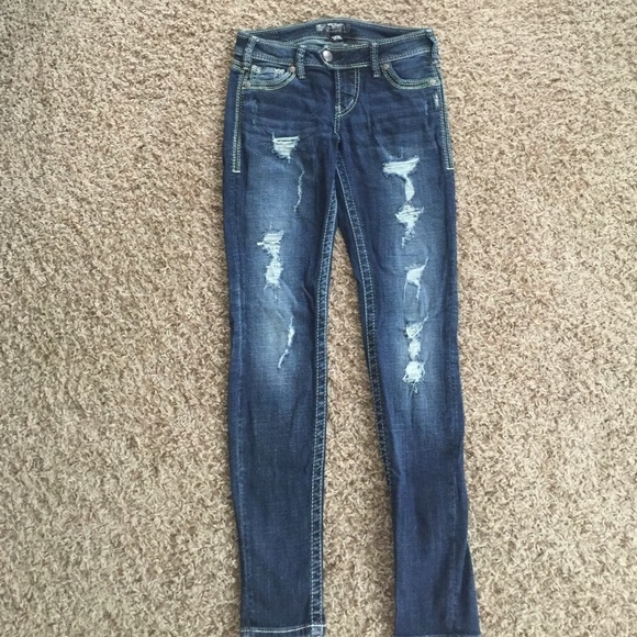 Silver Jeans Tuesday Skinny - Xtellar Jeans