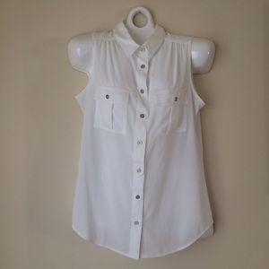 Calvin Klein short sleeve blouse
