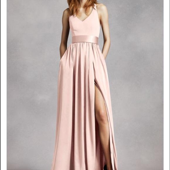 eab8f04c56 White by Vera Wang Bridesmaid Dress