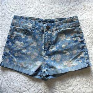 Pastel floral Jean short