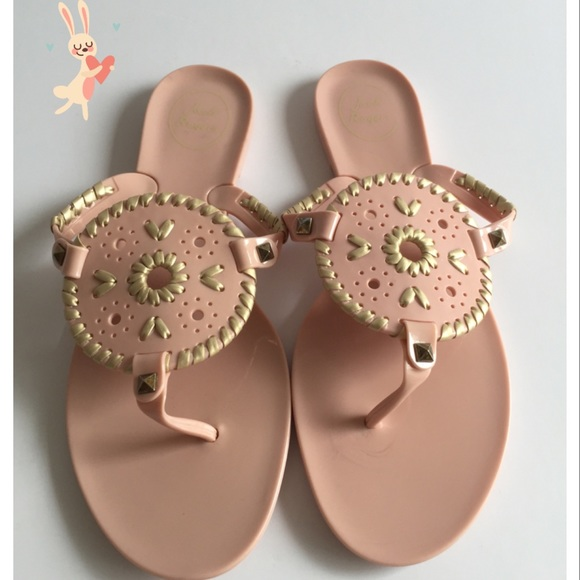 6507268d7042 New Jack Rogers Jelly Flip Flop Jelly Sandals ⛱