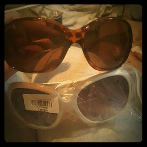 Vintage Big Round Sunglasses