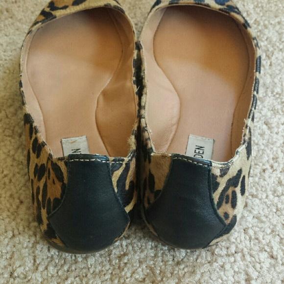 Steve Madden Shoes - Leopard print calf hair flats