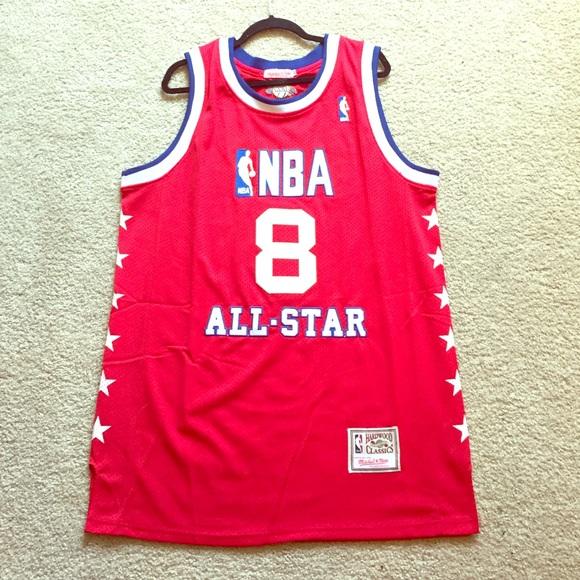 sale retailer 3f4f6 4aec1 Mitchell Ness NBA All Star Kobe Bryant Jersey 50