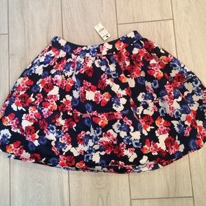 Express Skirts - NWT Express floral fit and flare skirt