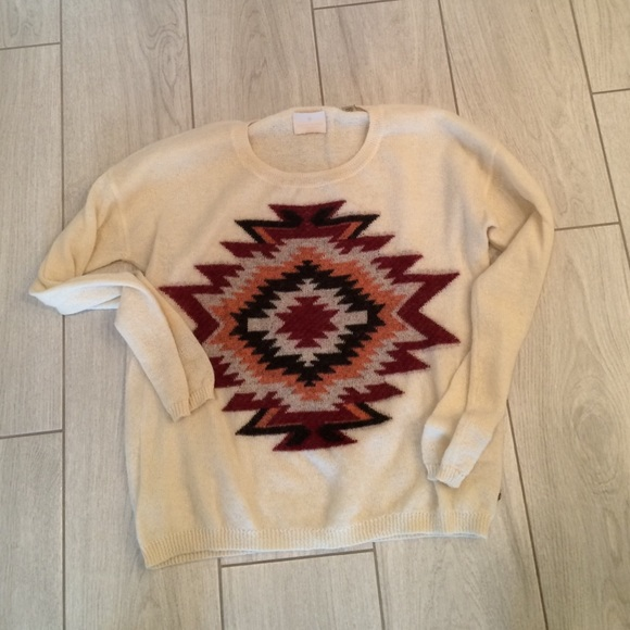 Maison scotch Sweaters - Madison Scotch ikat sweater