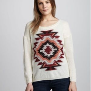 Madison Scotch ikat sweater