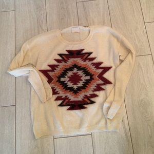 Maison scotch Sweaters - Madison Scotch ikat sweater