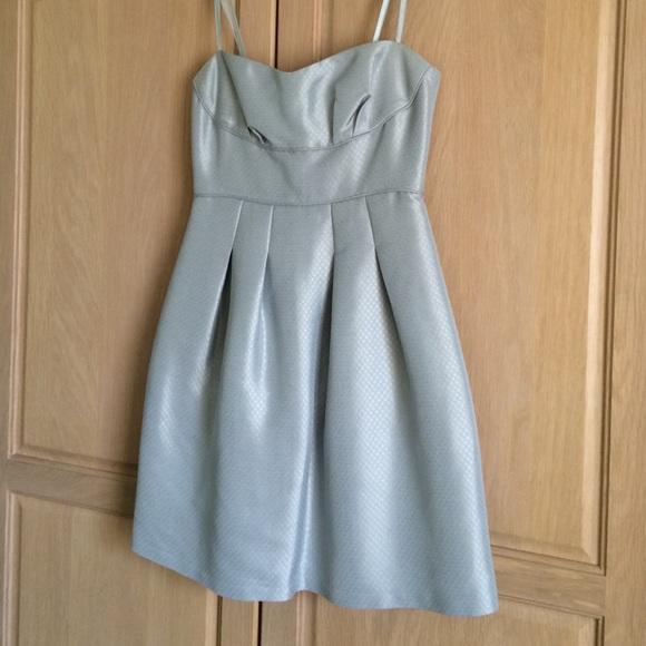 BCBGMaxAzria Dresses & Skirts | Light Blue Cocktail Dress | Poshmark