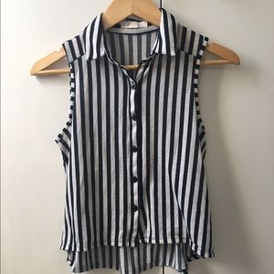 F21 Stripped Top