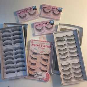 Accessories - Assorted false lashes