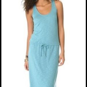 NWT Lanston drawstring maxi dress