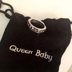 King Baby Studio Jewelry - King Baby Queen Baby Studio Stackable Ring 💀☠💋