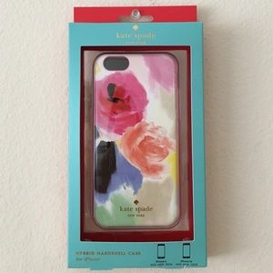 Kate Spade watercolor floral iPhone 6/6s case