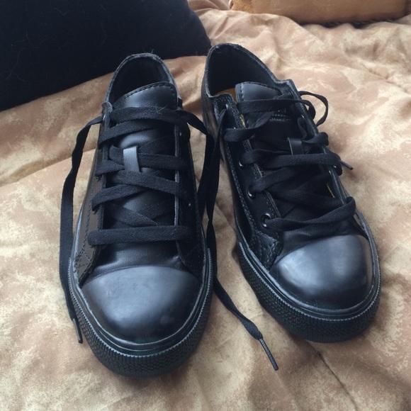 Tredsafe Shoes   Black Slip Resistant