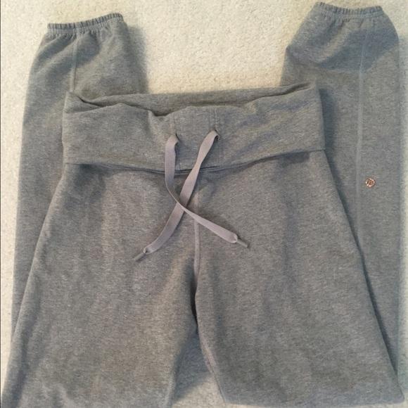 070b1379b7e5c lululemon athletica Pants   Lululemon Grey Joggers After Asana Pant ...