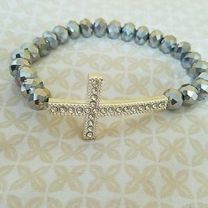 Accessories - Beautiful Cross Stretchy Bracelet