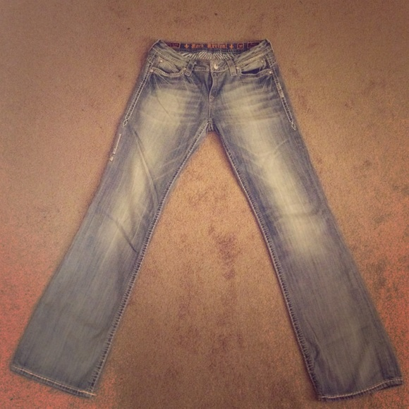 65% off Rock Revival Denim - Rock revival buckle flare jeans from ...