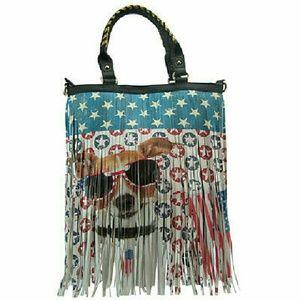 Handbags - Adorable Fringe Dog Bag