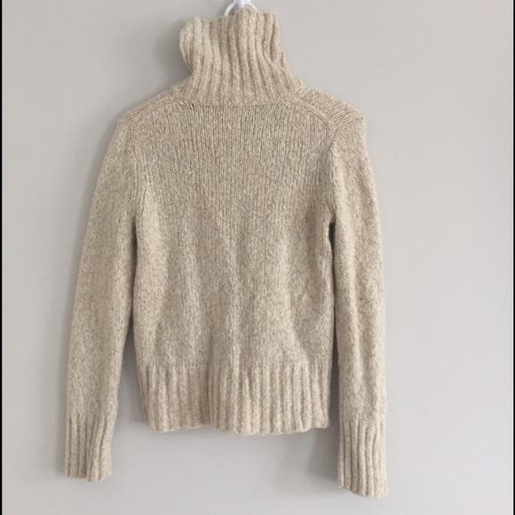 L.L. Bean - LLBean M Oatmeal Turtleneck Sweater from Tressie's ...
