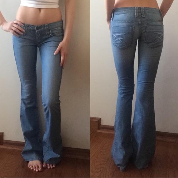 76% off Frankie B. Denim - Frankie B. Low Rise Bell Bottom Jeans 0 ...