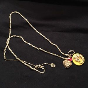Juicy Couture Jewelry - Juicy couture charm necklace